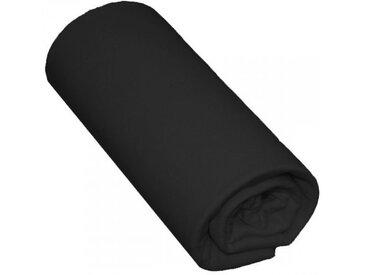 Drap Housse Bébé 100% Coton Noir 70x140 Bonnet 15 cm - Terre de Nuit