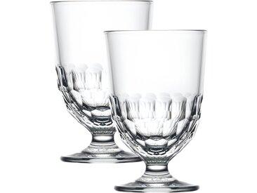 2 verres à vin -  Artois