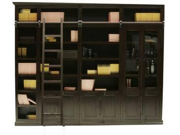 Bibliothèque Cabana élément vitrine Kare Design