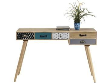 Bureau Capri 5 tiroirs 118x40cm Kare Design