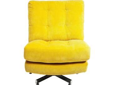 Fauteuil pivotant Cinema jaune Kare Design