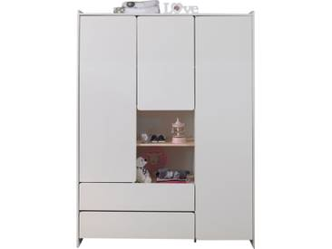 Armoire 3 portes Kiddy - blanc