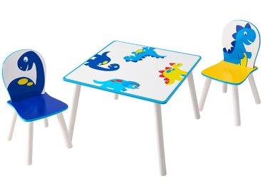 Table et chaises d'enfant Dinosaures