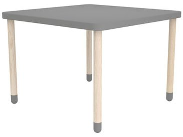 Table enfant Flexa Play carrée - gris