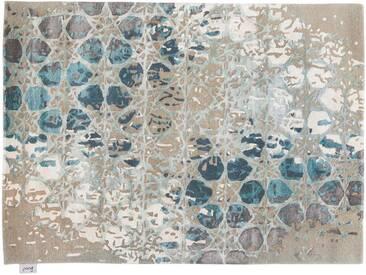 Kalias - tufté main:  Tapis orientaux modernes, motifs geometriques, materiaux de haute qualite
