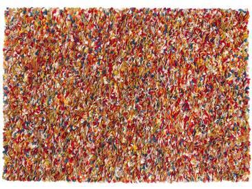 Araav - rectangulaire: 15cm x 20cm Multicolore laine feutrée Tapis dInde rectangulaire main