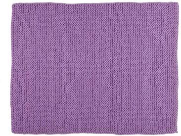 Gita:  Tapis Purple Chunky en laine, super doux pour les pieds, design danois