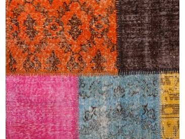 Tapis patchwork vintage personnalisé: 80cm x 100cm tapis vintage personnalisé, tapis de patchwork dans ses propres couleurs