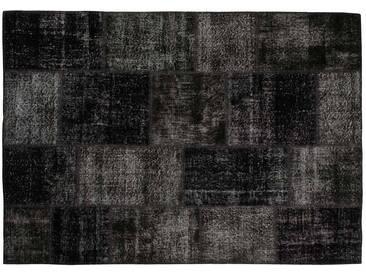 Hiranur: 80cm x 100cm Noir style vintage Tapis De la conception moderne de la Turquie