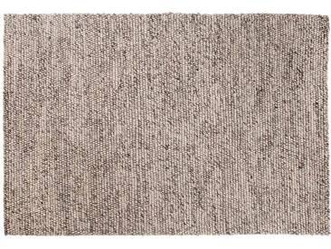 Kabir: 15cm x 20cm Tapis en laine dIvoire Gris Couleur main en Inde grandes et petites tailles Peas Hay