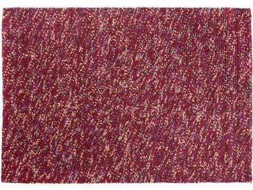 Atharv: 100cm x 140cm Rouge Violet Feutrée Fil de laine tapis faits main en Inde (envoi gratuit)