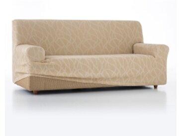 Housse fauteuilbeige  Housse fauteuil canapé extensible Alice