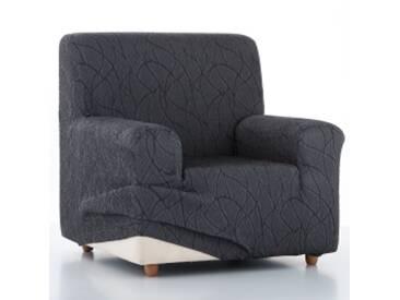 Housse fauteuilgris  Housse fauteuil canapé extensible Alice