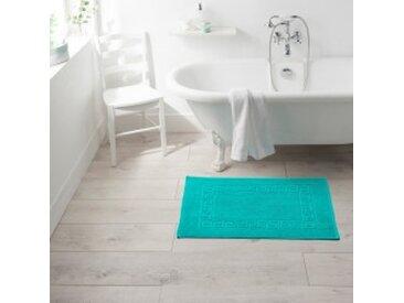 Tapis de bain : 50x70cmgris moyen  Tapis liteau motif grec qualité standard