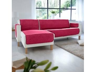 Protège-fauteuil : 60x140cmvert Protège-salon antiglisse collection faux-uni
