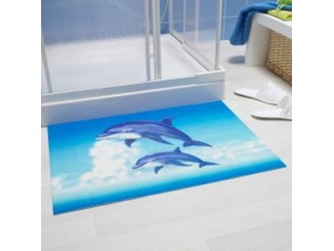 75X50dauphins Tapis bain motif dauphins