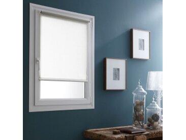 Store : largeur 42 x hauteur 170cmblanc  Store enrouleur tamisant blanc Système Easy*