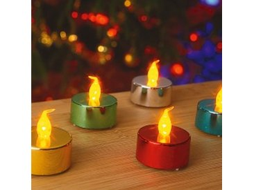 LOT 10multicolore  Bougies LED - lots