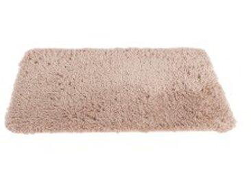 Tapis de bain : 60x100cmbeige Tapis de bain microfibre