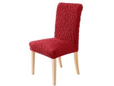 Housse de chaisebordeaux  Housse chaise bi-extensible