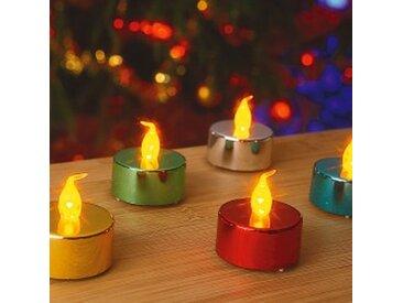 LOT 5multicolore  Bougies LED - lots