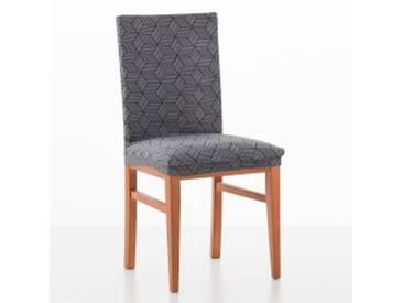 Housse de chaisegris anthracite  Housse chaise extensible Matarit