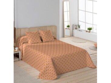 Jeté de lit 1-2 pers : 180x250 cmrose blush Couvre-lit imprimé