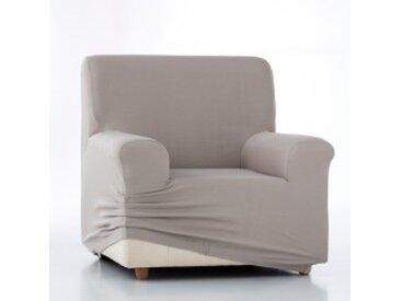Housse canapé 3 placesficelle  Housse unie fauteuil canapé bi-extensible