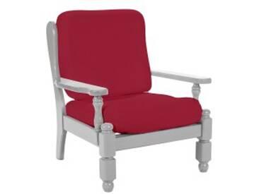 Lot housses dossier et assiseécru  Housse fauteuil rustique