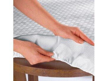 Sous-nappe ovale : 150x235cmstandard  Protège-table standard ou luxe
