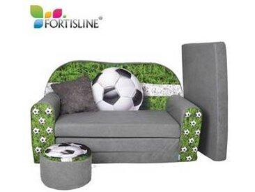 Fortis Sofa enfant convertibles Football,lit meuble pliant