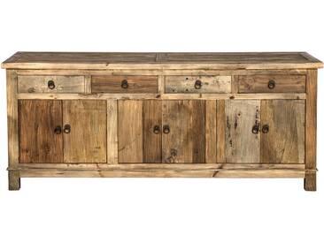 Soldes - Buffet Mastic en bois 3 portes 4 tiroirs