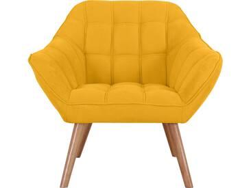 Fauteuil Simba jaune