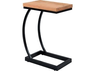 Table dappoint Baoli en acacia et métal