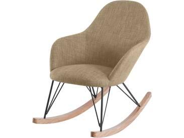 Soldes - Rocking Chair Malibu Beige