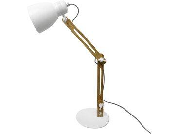 Lampe de bureau Makai blanche