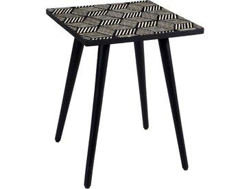 Table basse carrée Pyroli