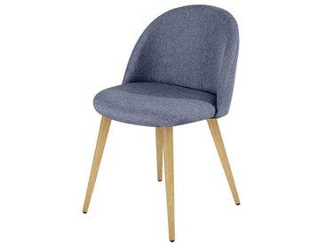 Chaise Cozy bleu gris