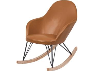 Rocking Chair Malibu Cognac