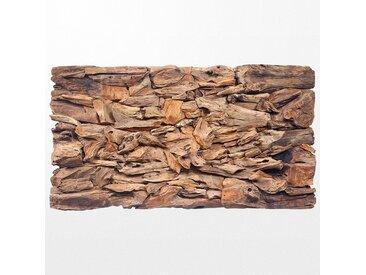 Grand tableau en bois exotique design