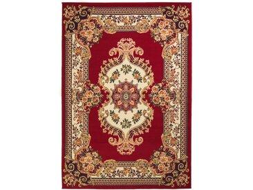 Tapis oriental Design persan 160 x 230 cm Rouge / Beige - vidaXL