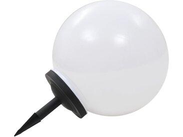 Lampe LED solaire d'extérieur sphérique 40 cm RVB - vidaXL