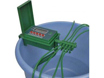 Système d'irrigation automatique avec minuteur - vidaXL