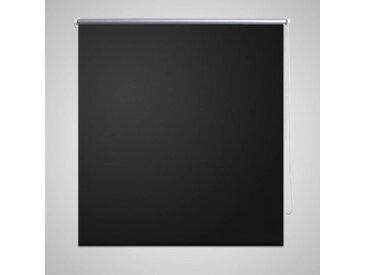 Store enrouleur occultant 140 x 230 cm noir - vidaXL