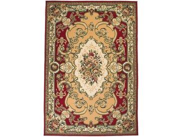 Tapis oriental Design Persan 80 x 150 cm Rouge / Beige - vidaXL