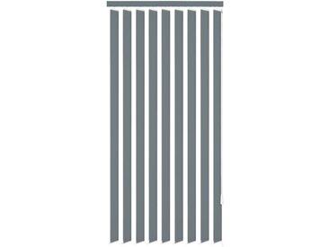 Store vertical 120 x 250 cm Tissu Gris - vidaXL