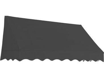 Auvent de bistro 200x120 cm Anthracite - vidaXL