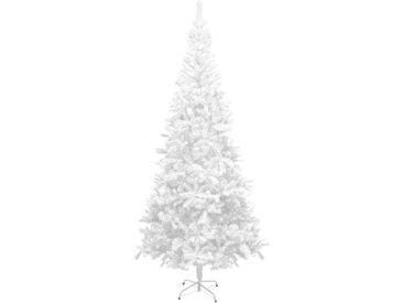 Sapin de Noël artificiel L 240 cm Blanc - vidaXL