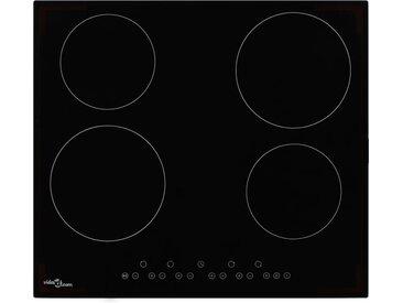 Plaque de cuisson Céramique 4 brûleurs Contrôle tactile 6000 W  - vidaXL
