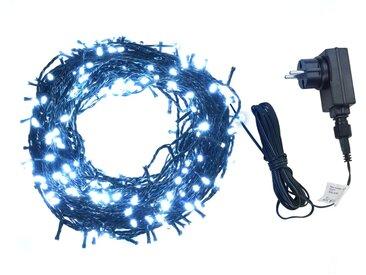 Guirlande lumineuse 1000 LED Intérieur et extérieur 100 m Blanc   - vidaXL